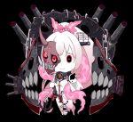 chibi corruption dark_persona eyes highres kantai_collection mask ogawa_shou pale_skin shinkaisei-kan white_skin yamato_(kantai_collection)