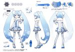 blue_eyes blue_hair blue_neckwear boots character_sheet cosplay detached_sleeves fur-trimmed_dress fur-trimmed_hair_tie hand_up hatsune_miku hatsune_miku_(shinkalion) headphones headset long_hair mittens multiple_views necktie rella shinkansen_henkei_robo_shinkalion silver_dress silver_legwear silver_sleeves snowflake_ornament snowflake_print snowflakes thigh-highs thigh_boots twintails very_long_hair vocaloid white_mittens yuki_miku yuki_miku_(cosplay) zettai_ryouiki