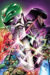 5girls 6+boys april_o'neil arm_guards armor axe belt black_bodysuit black_ranger blue_bodysuit blue_eyes blue_ranger bodysuit boots bow_(weapon) crossover dagger dinosaur donatello gloves glowing glowing_eye glowing_eyes gold_armor gold_trim green_bodysuit green_ranger helmet holding holding_axe holding_bow_(weapon) holding_dagger holding_spear holding_sword holding_weapon jason_lee_scott jaw kaiju_samurai karai katana kimberly_ann_hart leonardo lipstick makeup mask michelangelo mighty_morphin_power_rangers multiple_boys multiple_girls ninja ninjatou no_humans nunchaku official_art pink_bodysuit pink_ranger polearm power_rangers raphael red_bodysuit red_ranger sai_(weapon) scarf sharp_teeth short_sword shoulder_armor shredder siblings spear staff sword teenage_mutant_ninja_turtles teeth tommy_oliver trini_kwan turtle tyrannosaurus_rex weapon william_cranston witch_bandora yellow_bodysuit yellow_ranger zachary_taylor zordon