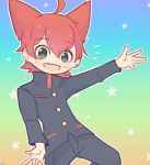 animal_ears cat cat_ears jiba_jinpei jibanyan nichga2 school_uniform self_upload youkai_watch
