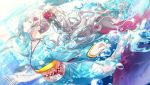 blue_eyes grey_hair idolmaster idolmaster_shiny_colors kimono long_hair yukoku_kiriko