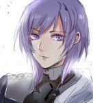 1boy epaulettes fire_emblem fire_emblem:_three_houses looking_at_viewer makeup medium_hair solo suposupo_(supodori) violet_eyes white_background yuri_(fire_emblem)