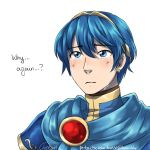 1boy blue_eyes blue_hair crying crying_with_eyes_open english_commentary fire_emblem fire_emblem:_monshou_no_nazo fire_emblem:_mystery_of_the_emblem fire_emblem:_shadow_dragon fire_emblem:_shin_ankoku_ryuu_to_hikari_no_tsurugi fire_emblem_11 fire_emblem_3 intelligent_systems male_focus marth_(fire_emblem) nintendo sad short_hair tears tiara timosveri