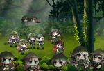 14 6+girls ak-47 ak47_(girls_frontline) akms ammunition_belt assault_rifle bandolier black_eyes black_hair blonde_hair blue_eyes bush character_request chibi dual_wielding english_commentary explosive girls_frontline grenade gun handgun hat helmet holding ithaca_m37_(girls_frontline) jungle long_hair m14_(girls_frontline) m1911 m1911_(girls_frontline) m21 m21_(girls_frontline) m4_carbine m4a1_(girls_frontline) m60 m60_(girls_frontline) machine_gun makarov_(girls_frontline) military military_uniform multicolored_hair multiple_girls nature orange_eyes outdoors pink_hair pistol red_eyes rgd-5 rifle short_hair shotgun simonov_(girls_frontline) sks streaked_hair the_mad_mimic tree twintails type_56_assault_rifle type_56_assault_rifle_(girls_frontline) uniform united_states_marine_corps very_long_hair viet_cong vietnam_war violet_eyes weapon yellow_eyes