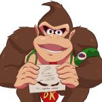1other animal ape black_eyes donkey_kong donkey_kong_(series) dr._mario_(game) dr._mario_world gorilla intelligent_systems looking_at_viewer lower_teeth mario_(series) necktie nintendo no_humans open_mouth paon rareware retro_studios smgold stethoscope