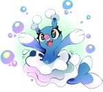 2016 brionne commentary creature english_commentary fangs full_body gen_7_pokemon milka_(milk4ppl) no_humans pokemon pokemon_(creature) seal signature simple_background solo white_background