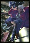 city fate/stay_night fate_(series) highres rubbish_selecting_squad thigh-highs thighhighs tohsaka_rin toosaka_rin turtleneck