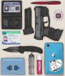 absurdres d-sawa613 gun heckler_&_koch highres original police weapon