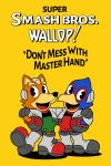 2boys absurdres animal animal_ears bird black_eyes boots crossover cuphead_(game) daniel_bernal english_text falco_lombardi falcon fox fox_ears fox_mccloud furry gloves happy highres jacket looking_at_viewer mammal md5_mismatch multiple_boys namco nintendo nintendo_ead no_humans open_mouth parody poster q-games rareware resized simple_background smile sora_(company) star_fox studiomdhr style_parody super_smash_bros. super_smash_bros_melee ub_iwerks_(style) ubisoft upscaled yellow_background