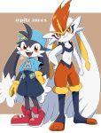 cinderace highres kaze_no_klonoa klonoa kokesi926 no pokemon pokemon_(game) pokemon_swsh