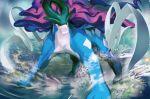 creature full_body kawaguchi_youhei no_humans official_art pokemon pokemon_(creature) pokemon_trading_card_game solo third-party_source