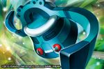 2015 bronzong commentary creature english_commentary floating full_body gen_4_pokemon match_(idleslumber) multiple_sources no_humans official_art pokemon pokemon_(creature) solo watermark
