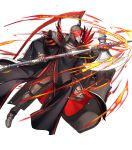 1other armor armored_boots axe boots dai-xt feathers fire fire_emblem fire_emblem:_three_houses fire_emblem_heroes flame_emperor full_body gloves glowing glowing_eyes helmet highres mask official_art red_eyes shield solo transparent_background