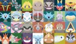 alolan_form alolan_geodude alolan_golem alolan_graveler alolan_sandshrew alolan_vulpix black_eyes blue_eyes bruxish carvanha cat commentary corphish creature cubchoo english_commentary face fangs fish gen_1_pokemon gen_2_pokemon gen_3_pokemon gen_4_pokemon gen_5_pokemon gen_6_pokemon gen_7_pokemon gengar glameow goomy hitmonchan hitmonlee horsea joltik klefki klink looking_at_viewer mega no_humans pawniard pokemon pokemon_(creature) seadra shawn_flowers shelmet snorunt stunfisk togedemaru turtonator tynamo vikavolt violet_eyes wailmer