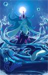 creature full_body galahawk gen_7_pokemon highres no_humans outdoors pokemon pokemon_(creature) primarina solo water