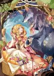 1girl big_bad_wolf_(grimm) little_red_riding_hood little_red_riding_hood_(grimm) tagme