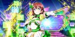 blush dress emma_verde green_eyes love_live!_school_idol_festival_all_stars redhead short_hair smile