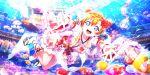 blue_eyes blush dress kousaka_honoka love_live!_school_idol_festival_all_stars orange_hair short_hair smile yukata