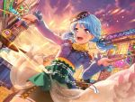 bang_dream! blue_hair blush dress long_hair matsubara_kanon smile twintails violet_eyes