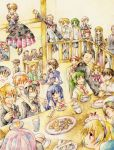 beelzebub black_hair blonde_hair blue_eyes blue_hair brown_hair cake everyone food frederica_bernkastel furude_rika gohda_toshiro gouda_toshirou green_hair hanyuu higurashi_no_naku_koro_ni houjou_satoko houjou_satoshi kanon_(character) kanon_(umineko) lambdadelta maebara_keiichi nanjo_terumasa nanjou_terumasa orange_hair pastry purple_hair red_eyes red_hair redhead ribbon ryuuguu_rena satan shannon siblings silver_hair smile sonozaki_mion sonozaki_shion stakes_of_purgatory takano_miyo take_it_home tea tomitake_jiro tomitake_jirou twins umineko_no_naku_koro_ni ushiromiya_battler ushiromiya_eva ushiromiya_george ushiromiya_jessica ushiromiya_kinzo ushiromiya_kinzou ushiromiya_kyrie ushiromiya_maria ushiromiya_rosa white_hair