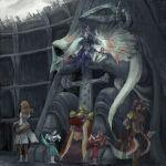 brahne brahne_raza_alexandros_xvi dragon final_fantasy final_fantasy_ix kuja lani lowres thorn zorn