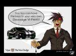 ad car guilty_gear jonathan_stuart parody ranguage sol_badguy