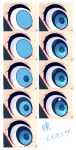 blue_eyes commentary_request eyelashes eyes how_to looking_at_viewer original yuihiko