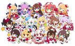 >_o 6+girls :d ;d ;q ahoge akai_haato aki_rosenthal anchor anchor_symbol animal_ear_fluff animal_ears bangs beret black-framed_eyewear black_dress black_hair black_legwear blonde_hair blue_dress blue_eyes blue_hair blue_headwear bow box bread brown_eyes brown_hair capelet cat_ears cat_girl cat_tail chibi chocolate_cornet closed_mouth commentary_request croissant crossover curled_horns demon_girl demon_tail demon_wings dog_ears dog_girl dog_tail dress eyebrows_visible_through_hair food fox_ears fox_girl fox_tail fur-trimmed_capelet fur-trimmed_dress fur-trimmed_headwear fur-trimmed_sleeves fur_trim gift gift_box glasses green_eyes hair_between_eyes hair_ornament hairclip hat hatsune_miku heart heart_hair_ornament hololive horns inugami_korone long_hair maid_headdress minato_aqua mini_hat multicolored_hair multiple_girls murasaki_shion muuran nakiri_ayame natsuiro_matsuri nekomata_okayu official_art one_eye_closed one_side_up oni oni_horns onigiri ookami_mio oozora_subaru open_mouth outstretched_arms pantyhose pointy_ears purple_hair red_capelet red_dress red_eyes red_headwear red_ribbon redhead ribbon roboco-san roboco_ch. sakura_miku santa_costume santa_hat semi-rimless_eyewear shirakami_fubuki signature silver_hair simple_background sleigh smile spread_arms star star_hair_ornament streaked_hair tail thigh-highs tilted_headwear tokino_sora tongue tongue_out twintails two-tone_hair under-rim_eyewear very_long_hair virtual_youtuber white_background white_bow white_hair white_legwear wings wolf_ears wolf_girl wolf_tail yellow_dress yellow_headwear yozora_mel yuzuki_choco