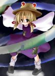 eyes fuji_tooya fuji_toya hat moriya_suwako ribbon ribbons short_hair touhou