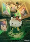 hello_kitty hello_kitty_(character) huke makise_kurisu official_art okabe_rintarou shiina_mayuri steins;gate