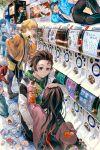 absurdres highres huge_filesize kamado_nezuko kamado_tanjirou kimetsu_no_yaiba kyuuba_melo