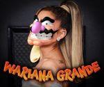 grande waluigi waluigi_(cosplay) wariana wariana_grande