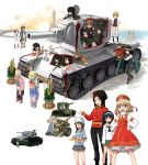 6+girls aki_(girls_und_panzer) alina_(girls_und_panzer) anchovy_(girls_und_panzer) andou_(girls_und_panzer) bangs bartender beach black_coat black_footwear black_hair black_headwear black_legwear black_neckwear black_pants black_ribbon black_skirt black_vest blonde_hair bloomers blouse blue_eyes blue_headwear blue_kimono blue_shirt blunt_bangs boots bow bowtie brown_eyes brown_hair brown_headwear brown_vest clara_(girls_und_panzer) closed_eyes coat cutlass_(girls_und_panzer) dark_skin dixie_cup_hat dress dress_shirt drill_hair emblem eyebrows_visible_through_hair fang flower fur_hat fur_scarf gesture girls_und_panzer glasses green_hair green_jacket green_skirt grey_skirt ground_vehicle hachimaki hair_ribbon hairband hand_on_hip hands_on_hips hat hat_feather hat_flower headband howitzer jacket japanese_clothes katahira_masashi katyusha_(girls_und_panzer) keizoku_(emblem) keizoku_school_uniform kimono kv-1 kv-2 lighthouse loafers long_hair long_sleeves maid_headdress marie_(girls_und_panzer) medium_dress mika_(girls_und_panzer) mikko_(girls_und_panzer) military military_hat military_uniform military_vehicle miniskirt motor_vehicle multiple_girls murakami_(girls_und_panzer) navy_blue_neckwear neckerchief nina_(girls_und_panzer) nonna_(girls_und_panzer) ocean ogin_(girls_und_panzer) ooarai_naval_school_uniform ooarai_school_uniform open_mouth oshida_(girls_und_panzer) pants pleated_skirt pravda_military_uniform red_dress red_flower red_headwear red_rose red_shirt redhead reizei_mako ribbon rose round_eyewear rum_(girls_und_panzer) russian_clothes sailor sailor_collar school_uniform serafuku shirt shoes short_hair short_twintails single_horizontal_stripe sitting skirt smile socks standing striped striped_shirt sunrise swimming tank tank_helmet torii tulip_hat turtleneck twin_drills twintails underwear uniform ushanka vertical-striped_shirt vertical_stripes vest white_bloomers white_blouse white_footwear white_hairband white_headband white_headwear white_kimono white_shirt white_skirt x-ray