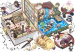 6+boys ? aqua_hair ball bathing bed black_hair blue_eyes blue_hair boat book bridge brown_hair calligraphy_brush cellphone chair chibi closed_eyes cup desk earphones earphones eating floorplan flower food fox glasses hair_over_one_eye hizen_tadahiro horikawa_kunihiro ink_bottle itou_(mogura) japanese_clothes jirou_tachi kamekichi kasen_kanesada kogitsunemaru konnosuke kousetsu_samonji labcoat lily_pad long_hair low-tied_long_hair lying male_focus miniboy multiple_boys nankaitarou_chouson on_back ookurikara open_mouth oriental_umbrella otegine paintbrush phone pink_hair plant ponytail potted_plant purple_hair red_eyes redhead revision rock sayo_samonji sengo_muramasa_(touken_ranbu) shokudaikiri_mitsutada shorts sitting smartphone smile soccer_ball souza_samonji taikogane_sadamune teacup tonbokiri_(touken_ranbu) touken_ranbu track_suit tsurumaru_kuninaga turtle umbrella urashima_kotetsu violet_eyes wagashi watercraft white_hair wind_chime yagen_toushirou yamabushi_kunihiro yamanbagiri_chougi yamanbagiri_kunihiro