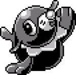 commentary english_commentary full_body gen_7_pokemon lowres pat_attackerman pixel_art pokemon pokemon_(creature) popplio solo sprite transparent_background