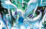 commentary creature english_commentary fangs flying full_body gen_2_pokemon hasuno_(poketcg) legendary_pokemon lugia multiple_sources no_humans official_art pokemon pokemon_(creature) pokemon_trading_card_game solo third-party_source