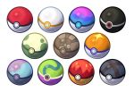 commentary creature english_commentary highres no_humans poke_ball pokemon pokemon_(creature) still_life toripng