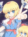 blonde_hair doll ry shanghai shanghai_doll short_hair smile touhou
