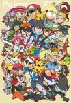 6+boys 6+girls :d ;) ash-greninja bird black_eyes blonde_hair blue_eyes braixen brother_and_sister brown_hair chespin closed_mouth commentary_request copyright_name creature crossed_arms diancie dual_persona eye_contact gen_1_pokemon gen_6_pokemon gen_7_pokemon green_eyes greninja hat highres holding holding_poke_ball holding_stick hoopa hoopa_(confined) long_hair looking_at_another magearna magearna_(normal) meowth multiple_boys multiple_girls mythical_pokemon one_eye_closed open_mouth pancham pikachu poke_ball poke_ball_(generic) pokemon pokemon_(anime) pokemon_(creature) pokemon_xy_(anime) satoshi_(pokemon) serena_(pokemon) short_hair siblings simple_background smile stick sunglasses sylveon twintails ukata volcanion yellow_background