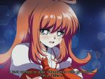 1990s_(style) 1girl brown_hair cowlick crying google_stadia google_stadia_(personification) long_hair looking_down merryweather original personification shirt white_shirt