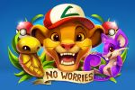 3others :d baseball_cap black_eyes blue_background brown_eyes cocoon commentary creature creatures_(company) crossover disney english_commentary english_text eric_proctor fangs game_freak gen_1_pokemon hakuna_matata happy hat kakuna lion_cub mouse nintendo no_humans olm_digital one_eye_closed open_mouth poke_ball poke_ball_(generic) pokemon pokemon_(creature) pun rat rattata satoshi_(pokemon) satoshi_(pokemon)_(classic) satoshi_(pokemon)_(cosplay) signature simba simple_background smile the_lion_king