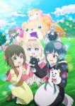 5girls absurdres character_request highres kuma_kuma_kuma_bear multiple_girls official_art