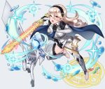 1girl absurdres artist_name bangs blonde_hair breasts cape commentary corrin_(fire_emblem) corrin_(fire_emblem)_(dragon) corrin_(fire_emblem)_(female) dragon_girl dual_persona elf eyelashes feet female_my_unit_(fire_emblem_if) fire_emblem fire_emblem_14 fire_emblem_fates fire_emblem_if full_body glowing glowing_sword glowing_weapon hair_between_eyes hairband highres holding holding_sword holding_weapon huge_filesize intelligent_systems kamui_(fire_emblem) kamui_(fire_emblem)_(girl) long_hair looking_at_viewer manakete multiple_girls my_unit_(fire_emblem_if) nintendo open_mouth pointy_ears red_eyes sarukaiwolf shiny shiny_hair sparkle super_smash_bros. sword teeth toes tongue weapon