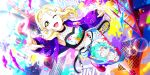 blonde_hair blush jacket love_live!_school_idol_festival_all_stars ohara_mari short_hair smile wink yellow_eyes