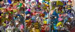 bleedman bowser captain_falcon diddy_kong donkey_kong everyone f-zero falco_lombardi fire_emblem fox_mccloud game_&_watch ganondorf highres holding holding_poke_ball ice_climber ice_climbers ike jigglypuff kid_icarus king_dedede kirby kirby_(series) link luca lucario lucas luigi mario marth meta_knight metal_gear metal_gear_solid metroid mother_(game) mother_2 mother_3 mr._game_&_watch nana_(ice_climber) ness nintendo olimar pikachu pikmin pit poke_ball pokemon pokemon_(creature) pokemon_(game) pokemon_rgby pokemon_trainer popo_(ice_climber) princess_peach princess_zelda r.o.b r.o.b. red_(pokemon) red_(pokemon)_(remake) samus_aran sheik shirt skin_tight solid_snake sonic sonic_the_hedgehog star_fox starfox striped striped_shirt super_mario_bros. super_smash_bros. the_legend_of_zelda toon_link wario warioware wolf_o'donnell yoshi zero_suit