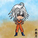 1girl chibi fate/grand_order fate_(series) highres jeanne_d'arc_(alter)_(fate) jeanne_d'arc_(fate)_(all) minazuki-sensei original self_upload son_gokuu