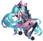 hatsune_miku highres magical_mirai_(vocaloid) ni02_(asahi_nini) vocaloid