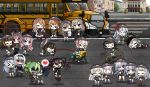 >_< 404_(girls_frontline) 6+girls ak-12_(girls_frontline) ak-15_(girls_frontline) an-94_(girls_frontline) angry anti-rain_(girls_frontline) apron bicycle cellphone character_request chibi closed_eyes crosswalk defy_(girls_frontline) denim dragging floating g11_(girls_frontline) girls_frontline gloves ground_vehicle hat highres hk416_(girls_frontline) holding_hands jeans kindergarten_uniform knife m16a1_(girls_frontline) m1903_springfield_(girls_frontline) m4_sopmod_ii_(girls_frontline) m4a1_(girls_frontline) m950a_(girls_frontline) multiple_girls pa-15_(girls_frontline) pants persica_(girls_frontline) phone riding_bicycle ro635_(dinergate) ro635_(girls_frontline) road rpk-16_(girls_frontline) saf_(girls_frontline) scarecrow_(girls_frontline) school_bus school_hat shaded_face smartphone st_ar-15_(girls_frontline) street sweatdrop the_mad_mimic thunder_(girls_frontline) ump40_(girls_frontline) ump45_(girls_frontline) ump9_(girls_frontline) younger