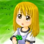 clover lowres oekaki tears translated yotsubato! young