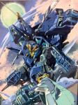 1980s_(style) aircraft armor car drift dual_wielding earth ground_vehicle helicopter holding japanese_armor katana marble-v mecha moon motor_vehicle multiple_views oldschool parody planet samurai style_parody sword transformers transformers:_lost_age weapon
